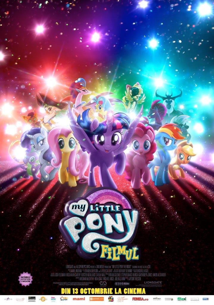 My Little Pony: Filmul – 2D Dublat / My Little Pony: The Movie (Premieră)