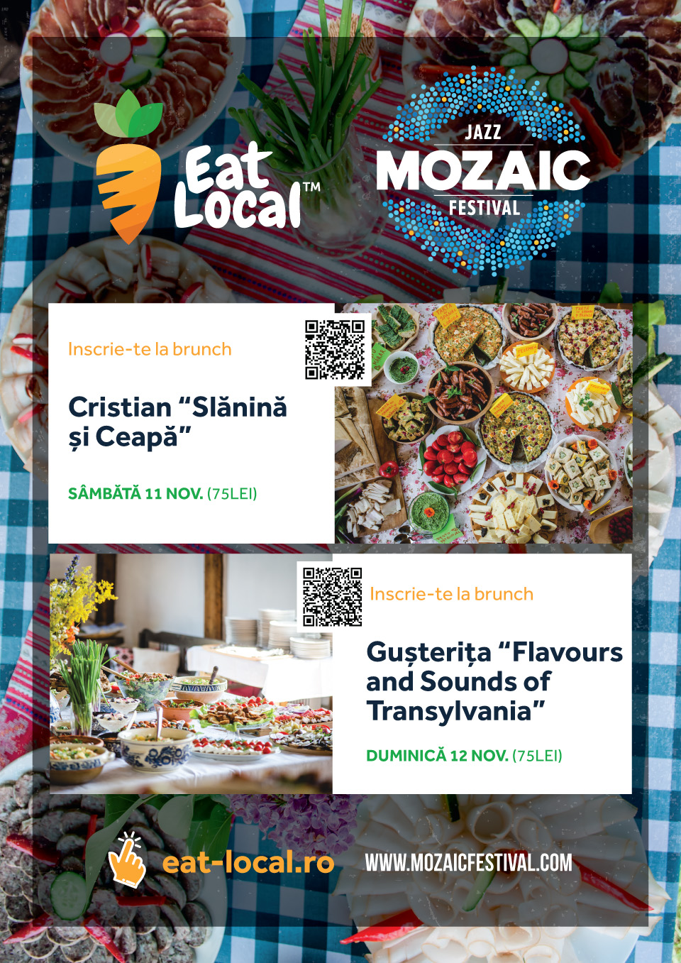 Eat Local la Mozaic Jazz Festival