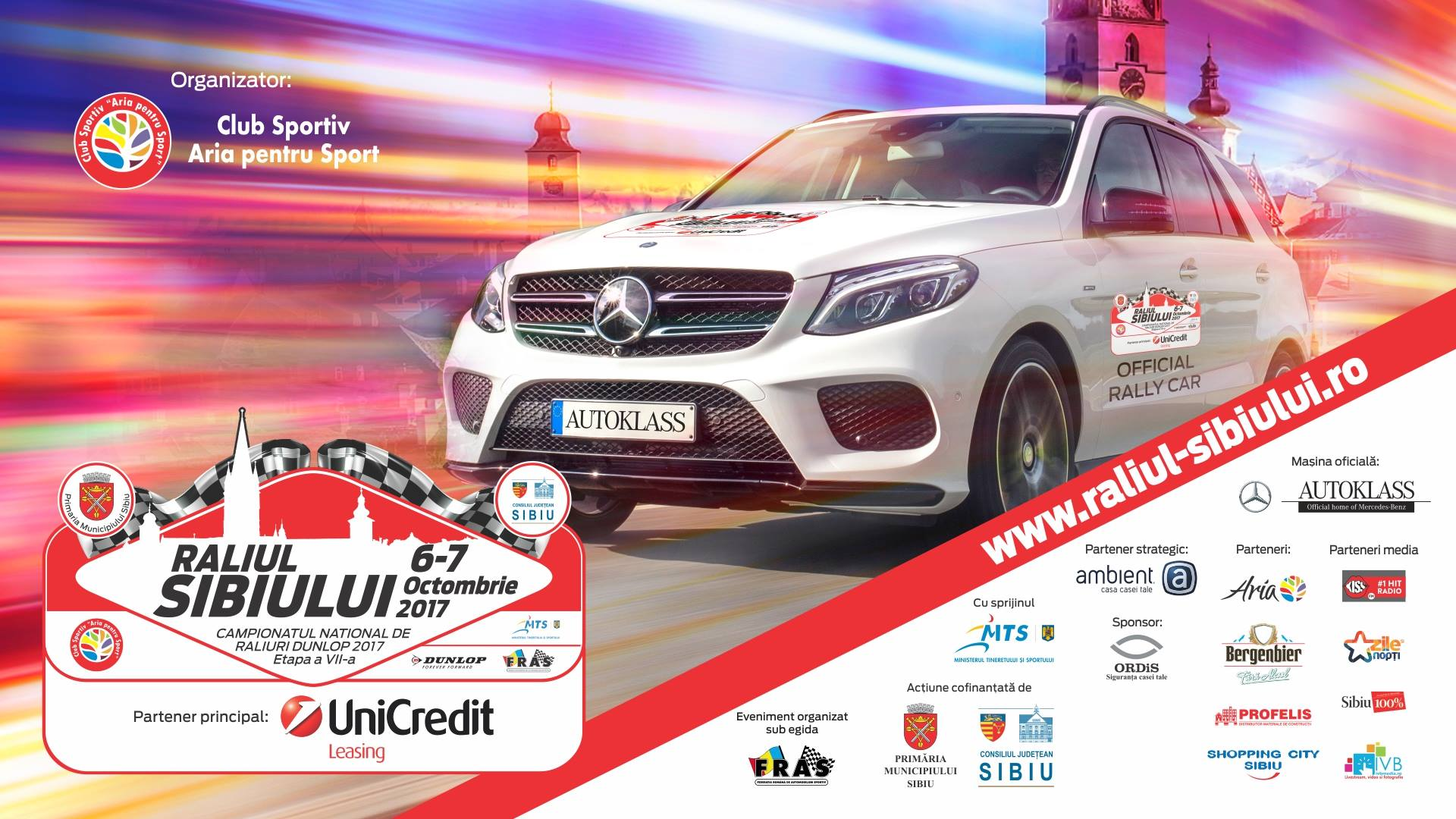 Raliul Sibiului UniCredit Leasing 2017
