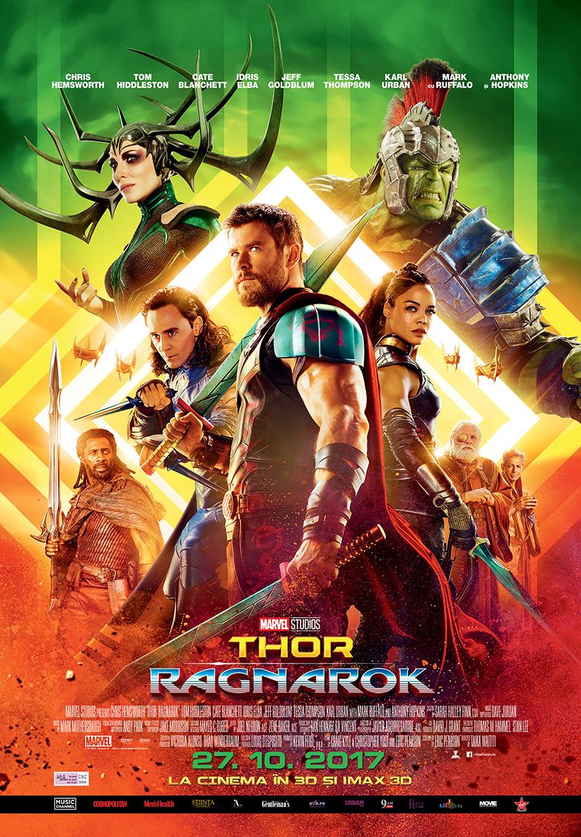 Thor: Ragnarok – 3D (premieră)