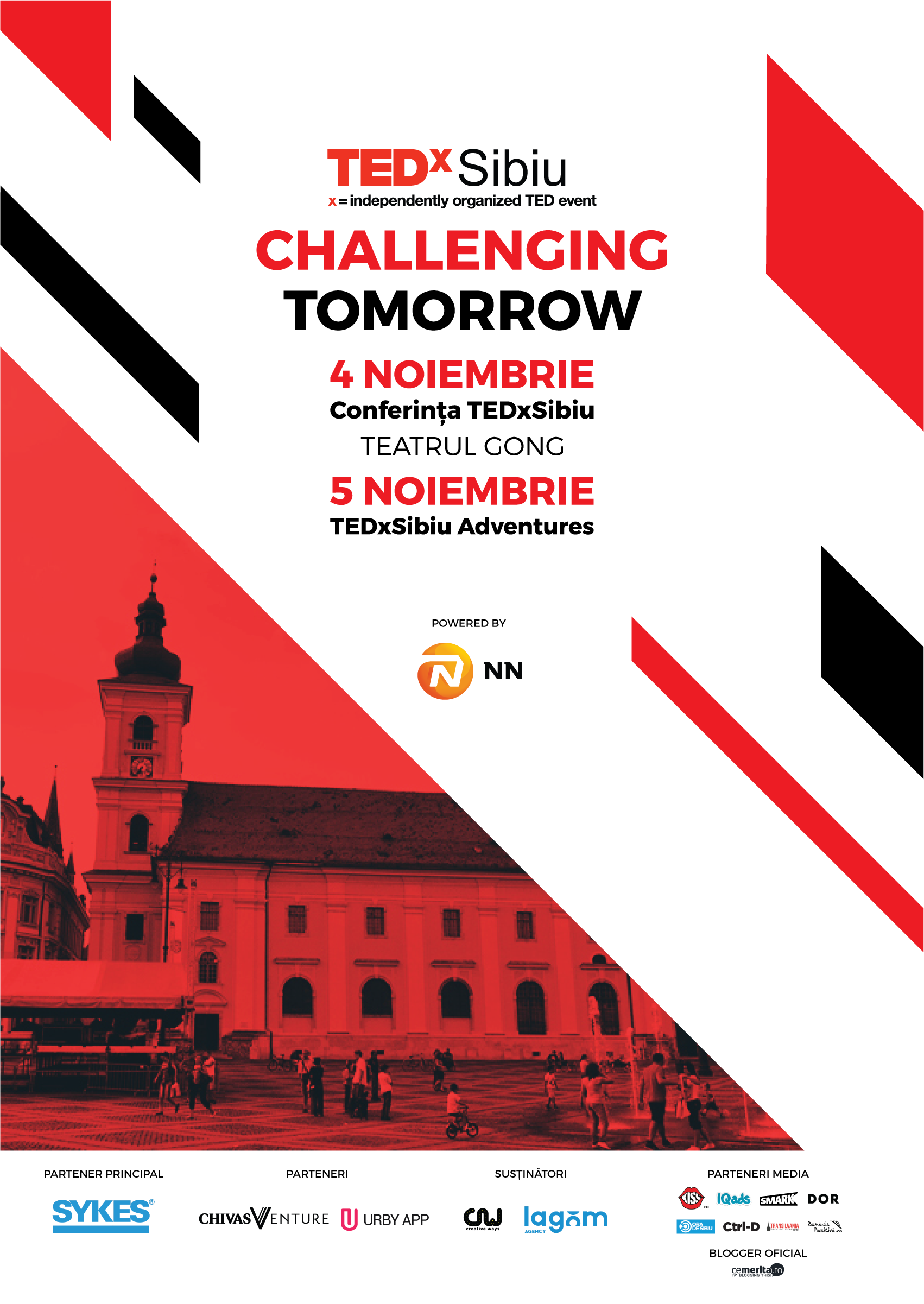 TEDxSibiu Challenging Tomorrow