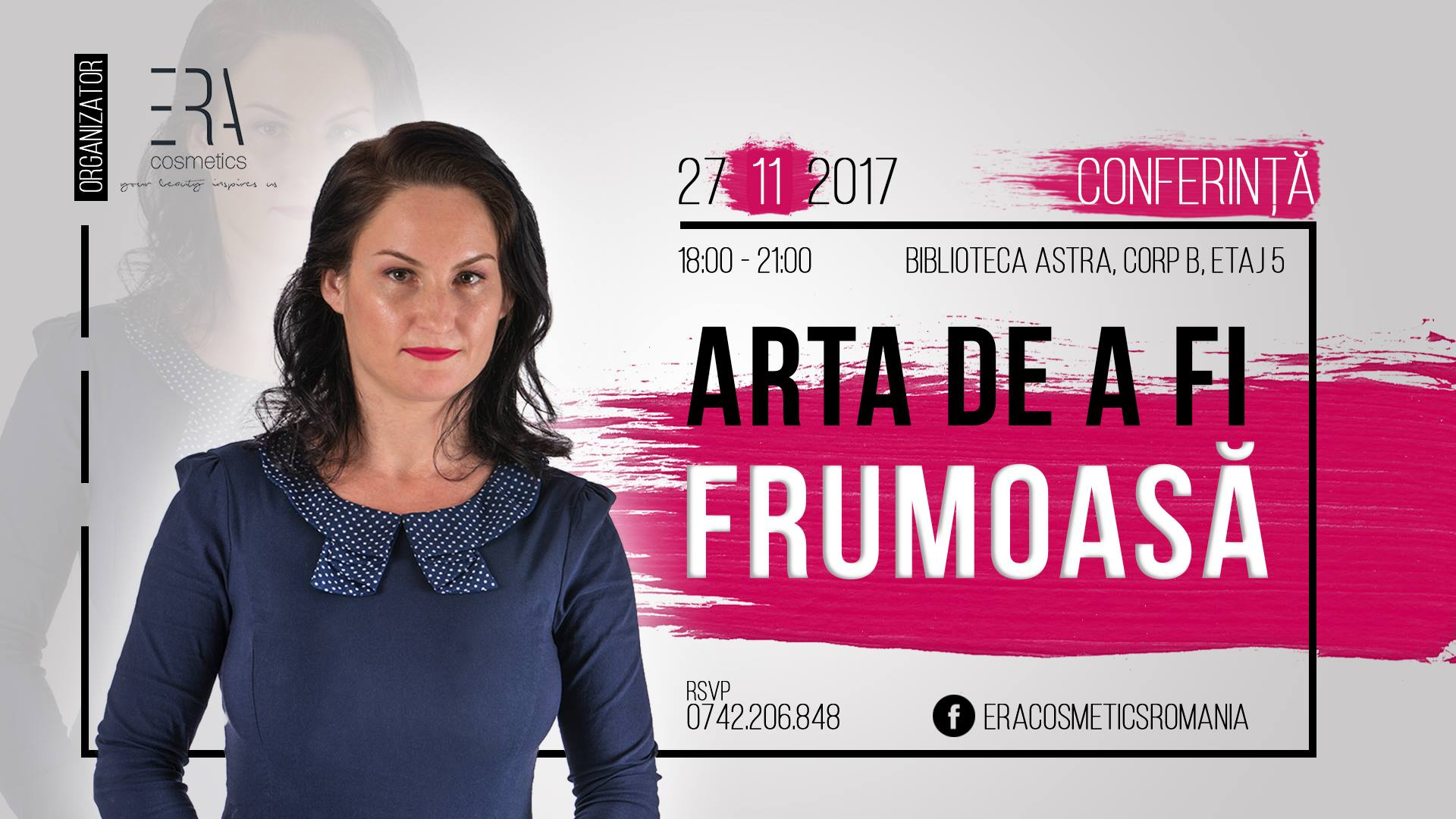 Conferință: Arta de a fi frumoasă by Era Cosmetics