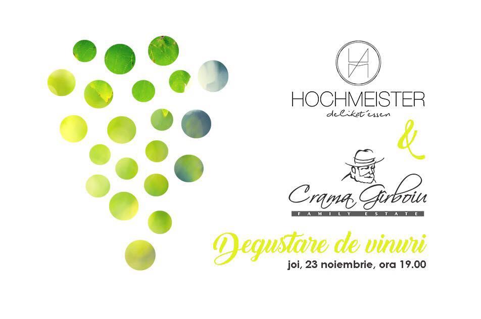 Degustare de vinuri Crama Gîrboiu