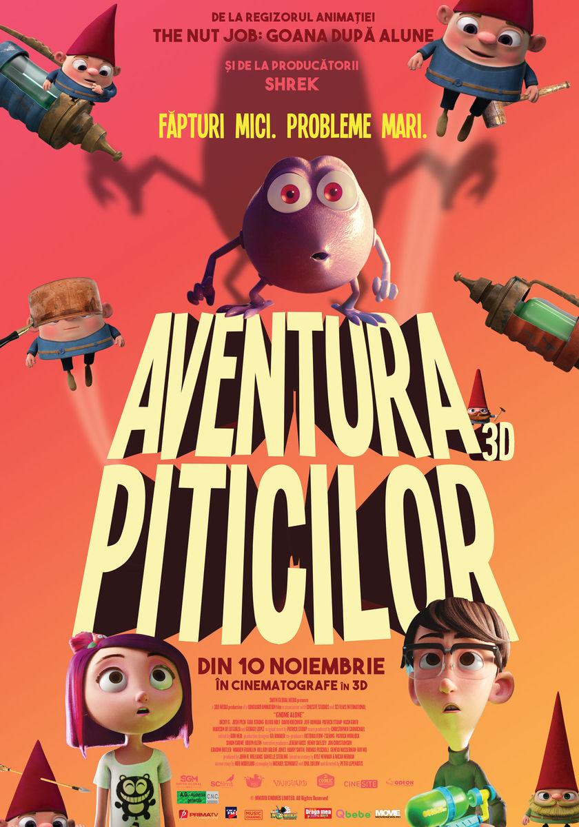Aventura Piticilor – 3D Dublat / Gnome Alone 3D