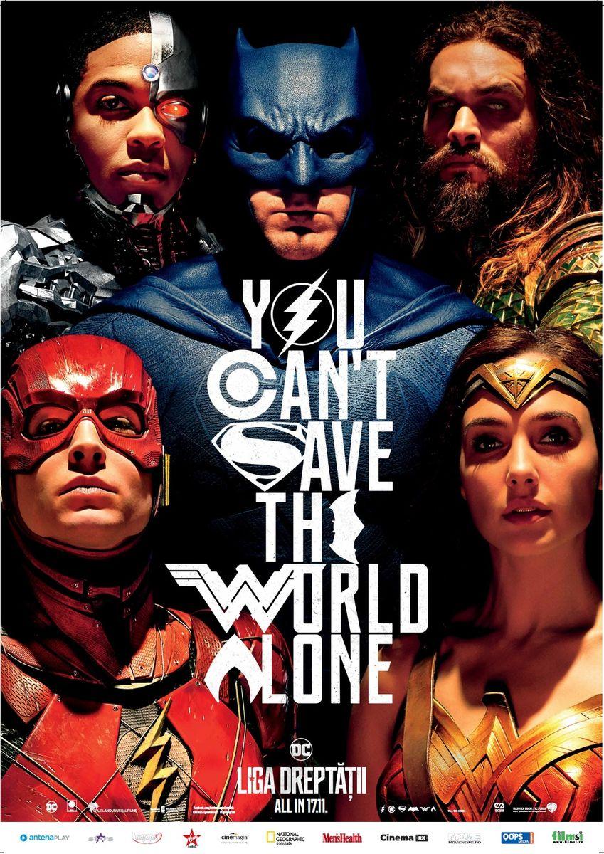 Liga Dreptăţii – 3D / Justice League – 3D (premieră)