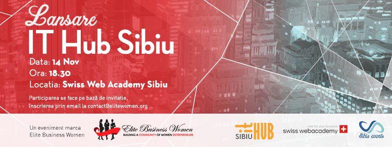 Lansare It Hub Sibiu