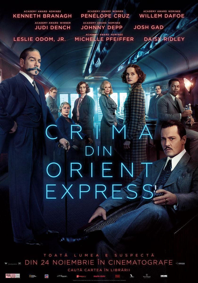 Crima din Orient Express / Murder on the Orient Express (Premieră)