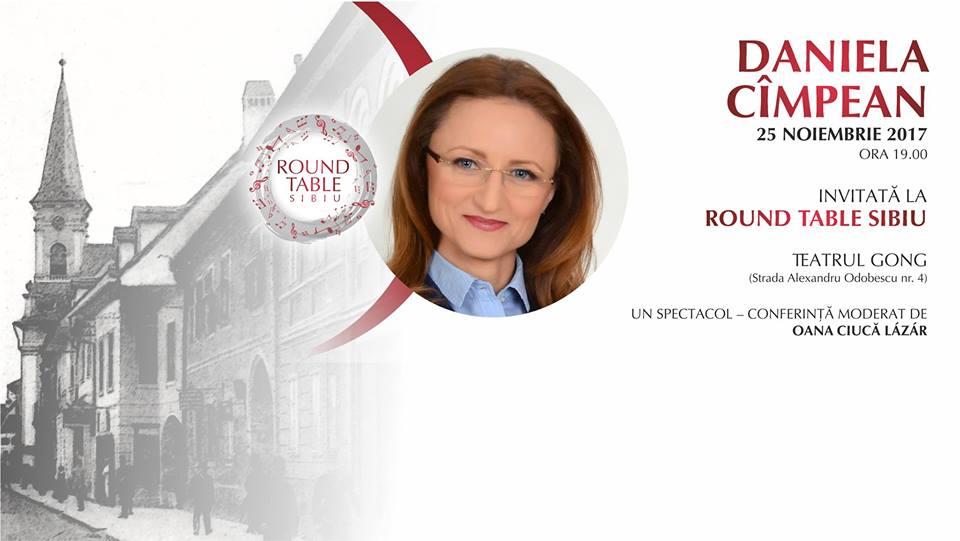 Președinta CJ Sibiu, Daniela Cîmpean, invitată la Round Table