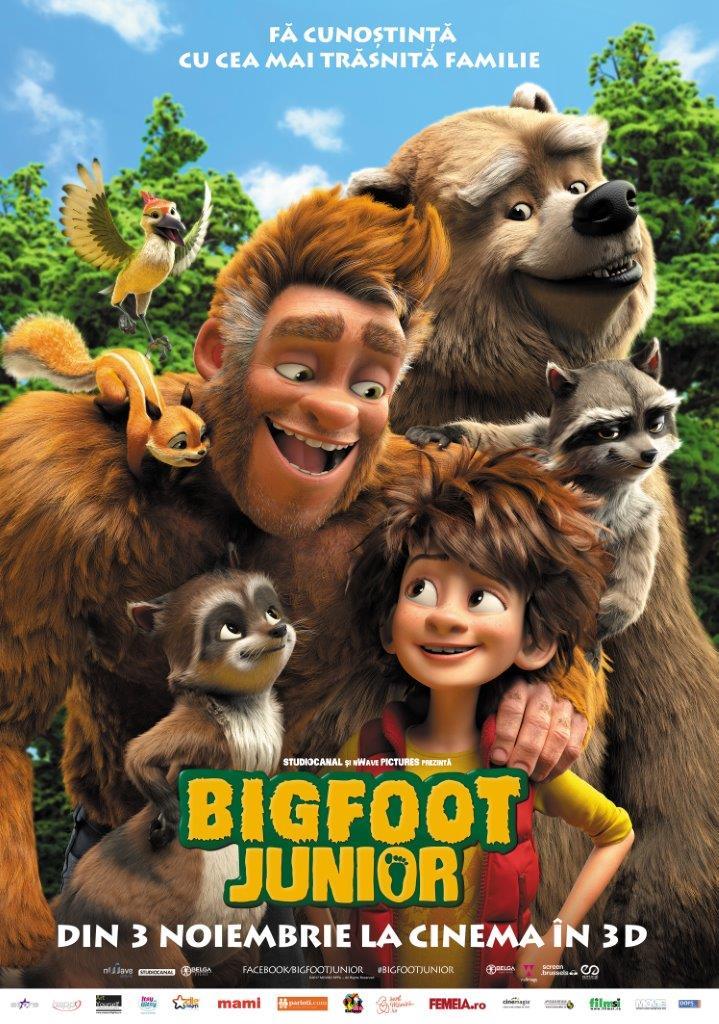 Bigfoot Junior – 3D Dublat / The Son of Bigfoot – 3D (Premieră)
