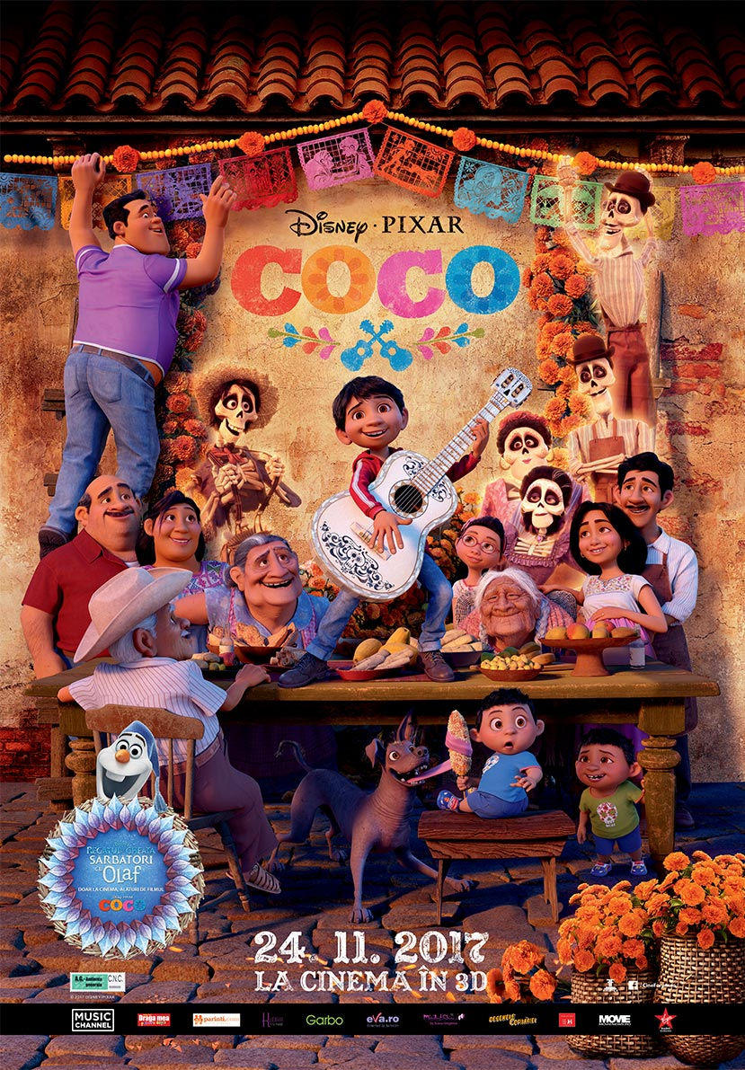 Coco – 3D Dublat / Coco – 3D
