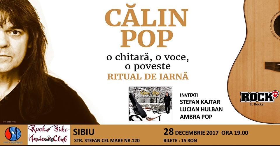 """Calin Pop(Celelalte Cuvinte) lansare album """"Ritual de iarna"""""""