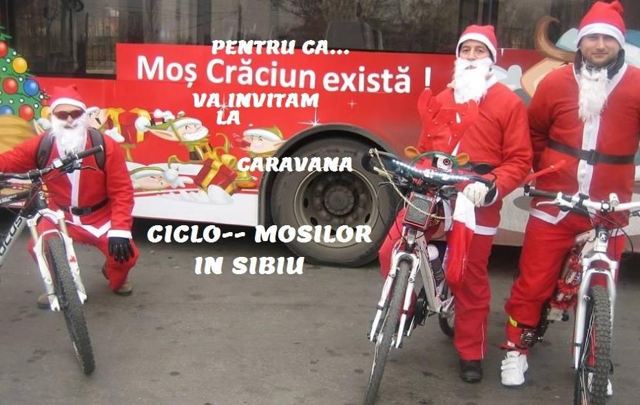 Caravana Ciclo Mosilor in Sibiu !