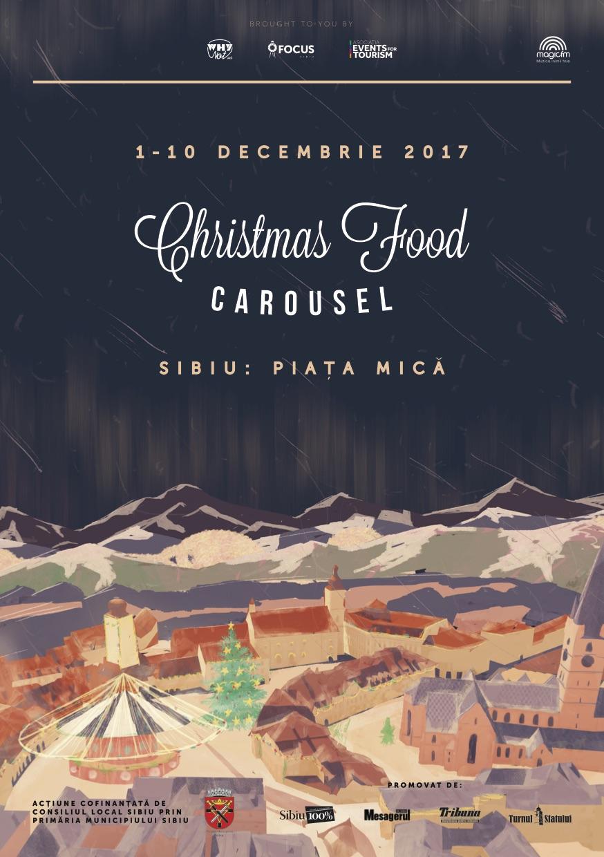 Christmas Food Carousel