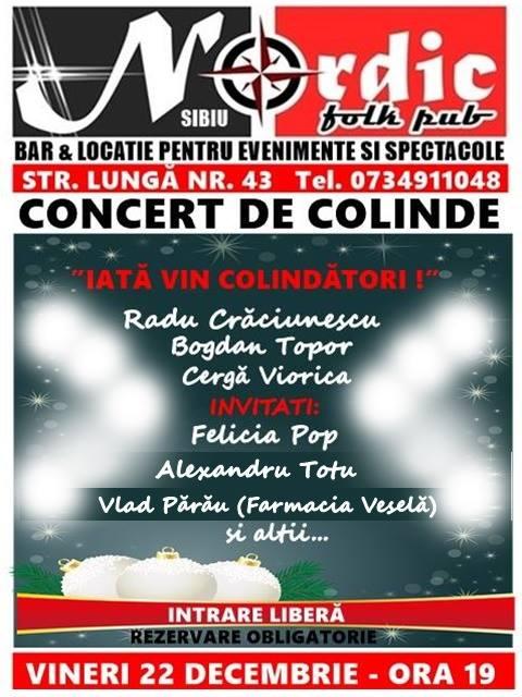 """Concert de Colinde - """"Iată vin Colindători!"""""""