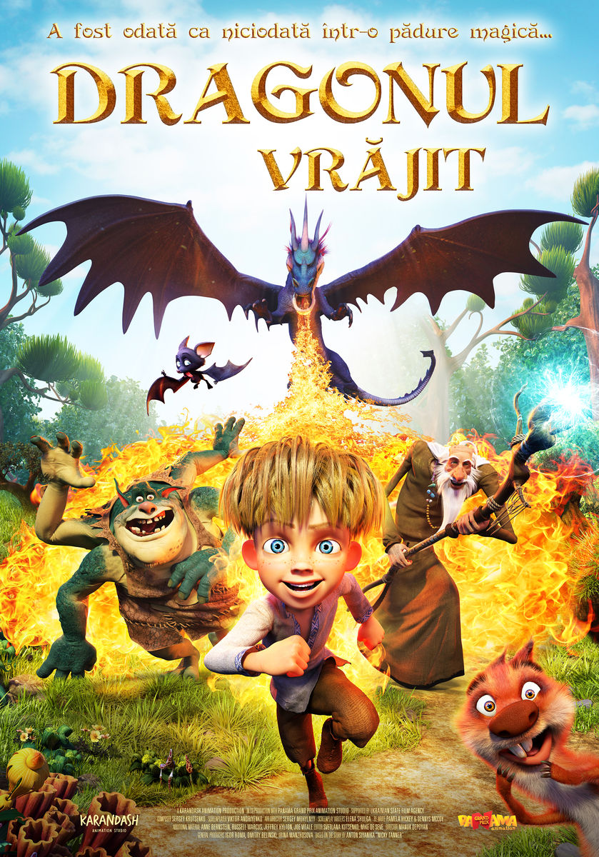 Dragonul Vrăjit – 2D Dublat / The Dragon Spell (Premieră)