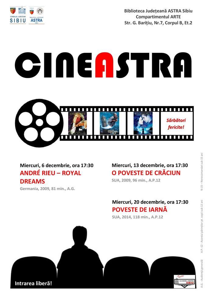 CINEASTRA - O poveste de Craciun
