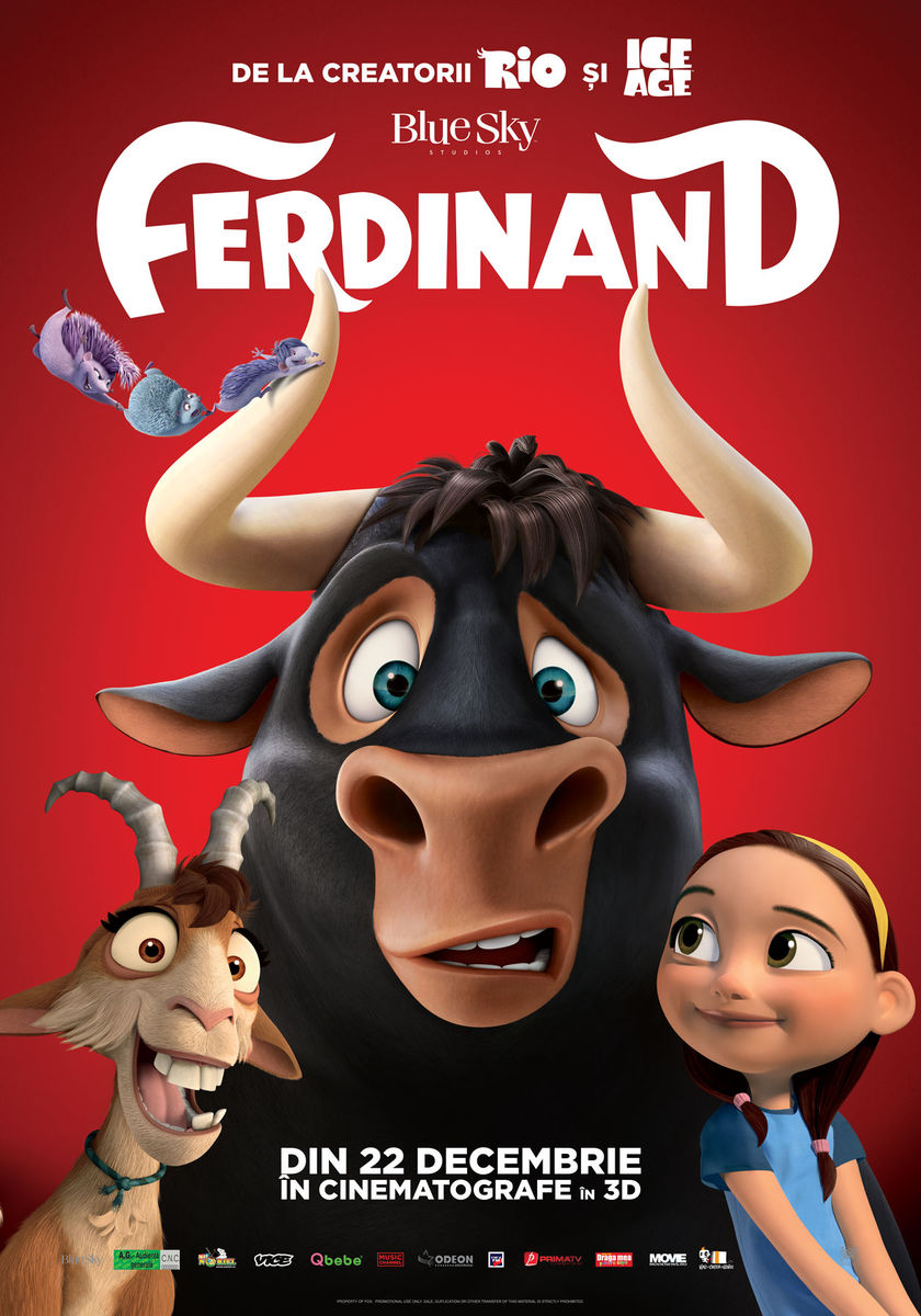 Ferdinand – 3D Dublat (Premieră)