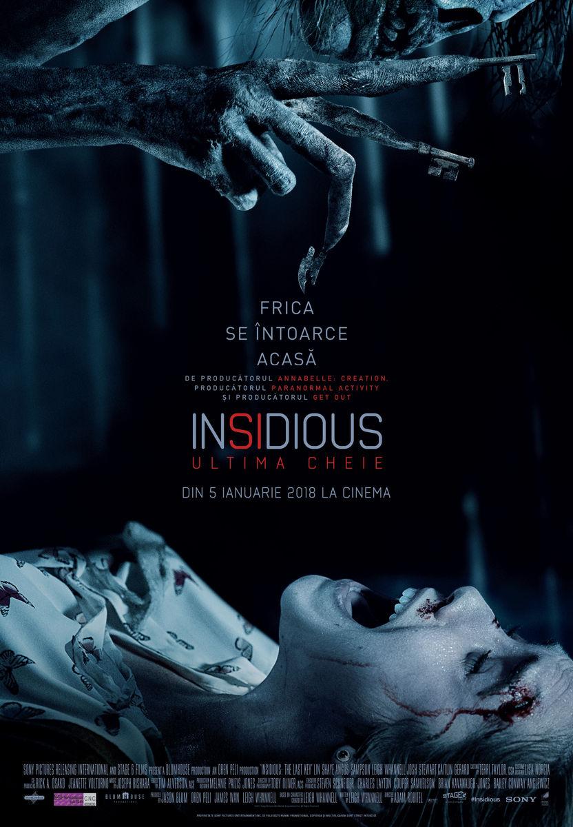 Insidious: Ultima cheie / Insidious: The Last Key (Premieră)