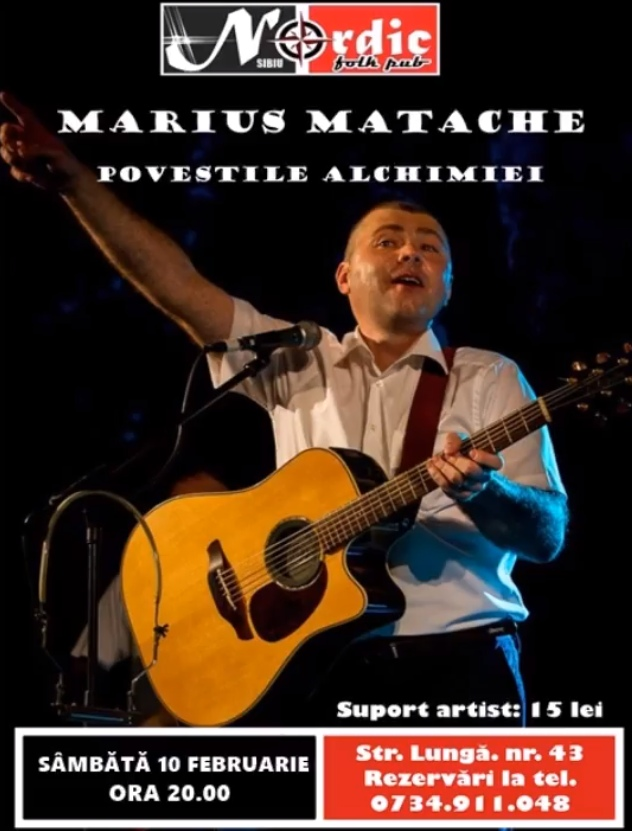 """Marius Matache - """"Poveștile Alchimiei"""""""