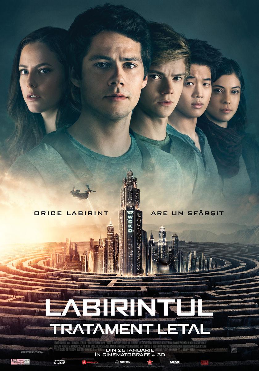 Labirintul: Tratament letal – 3D / Maze Runner: Death Cure (premieră)