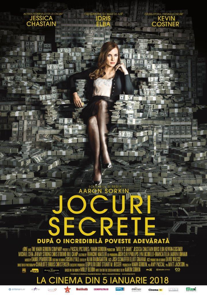 Jocuri secrete / Molly's Game (Premieră)