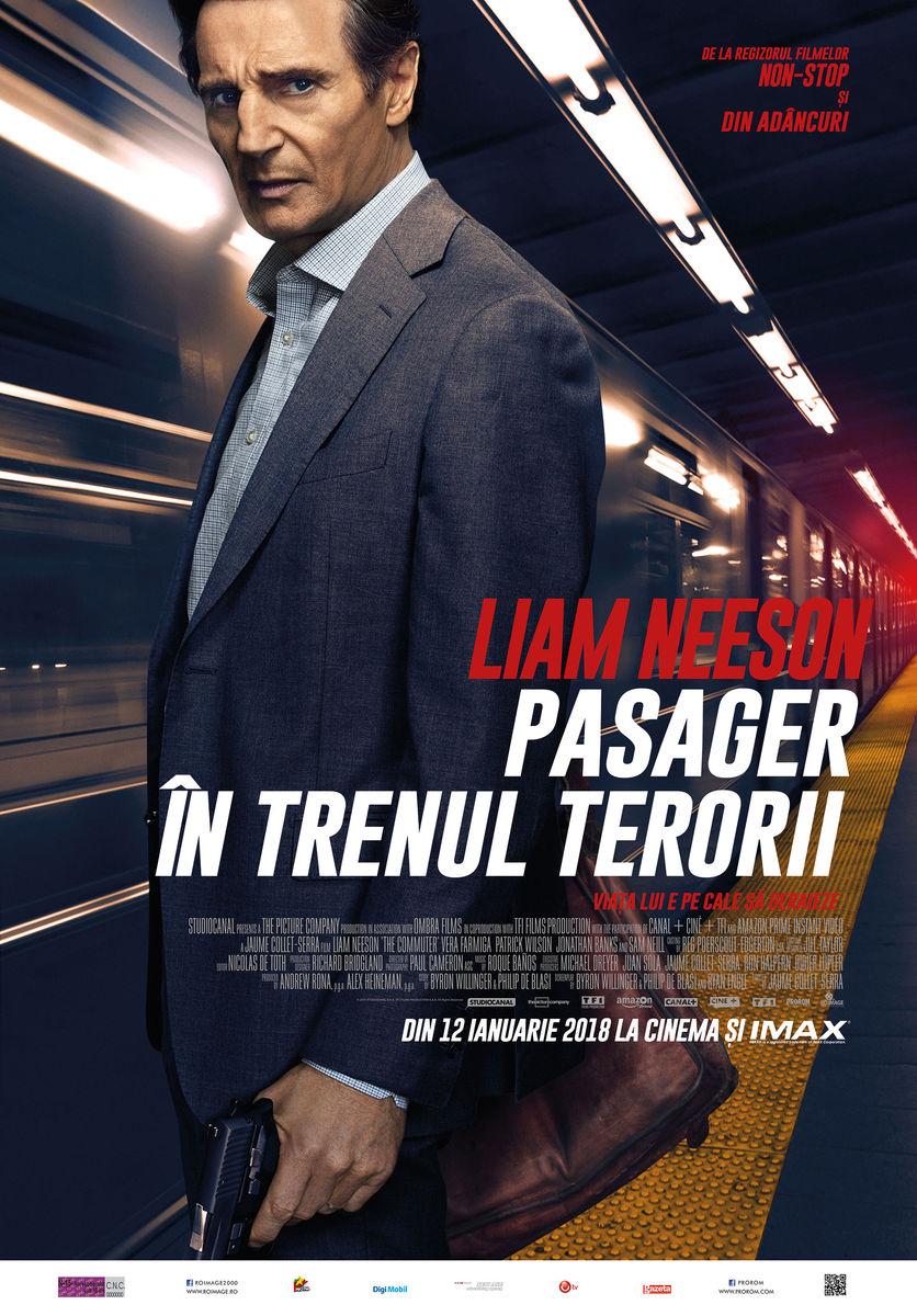 Pasager în trenul terorii / The Commuter (Premieră)