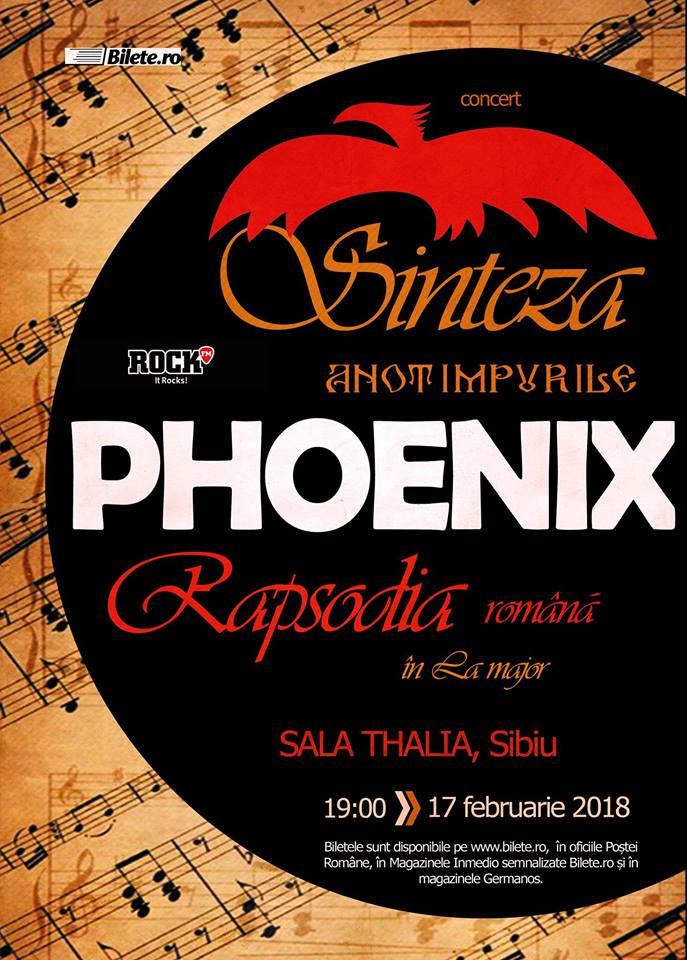 Phoenix - Sinteza Rapsodia, Sibiu