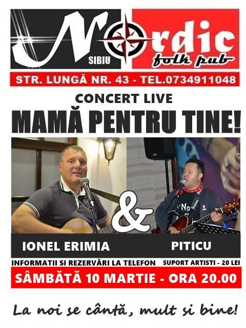 """Ionel Erimia & Piticu - Concert """"Mamă pentru tine!"""""""