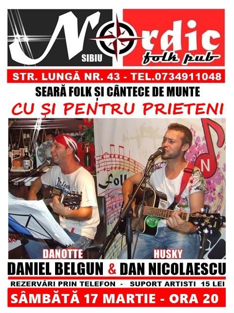 Danotte si Dan Nicolaescu - Concert Folk si Cântece de Munte