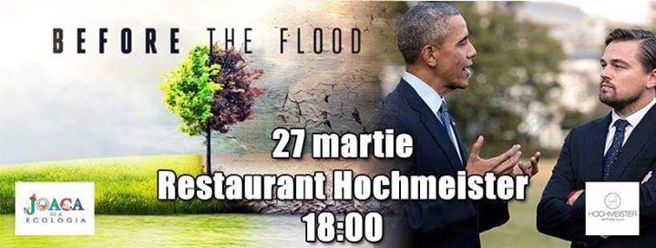 """Vizionare """"Before The Flood"""""""