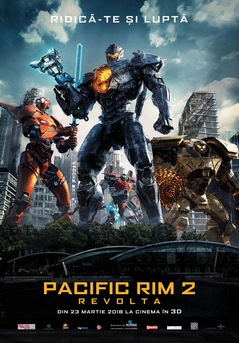 Pacific Rim 2: Revolta – 3D / Pacific Rim: Uprising (Premieră)
