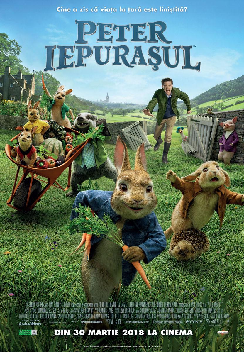 Peter Iepuraşul – 2D Dublat / Peter Rabbit (Premieră)