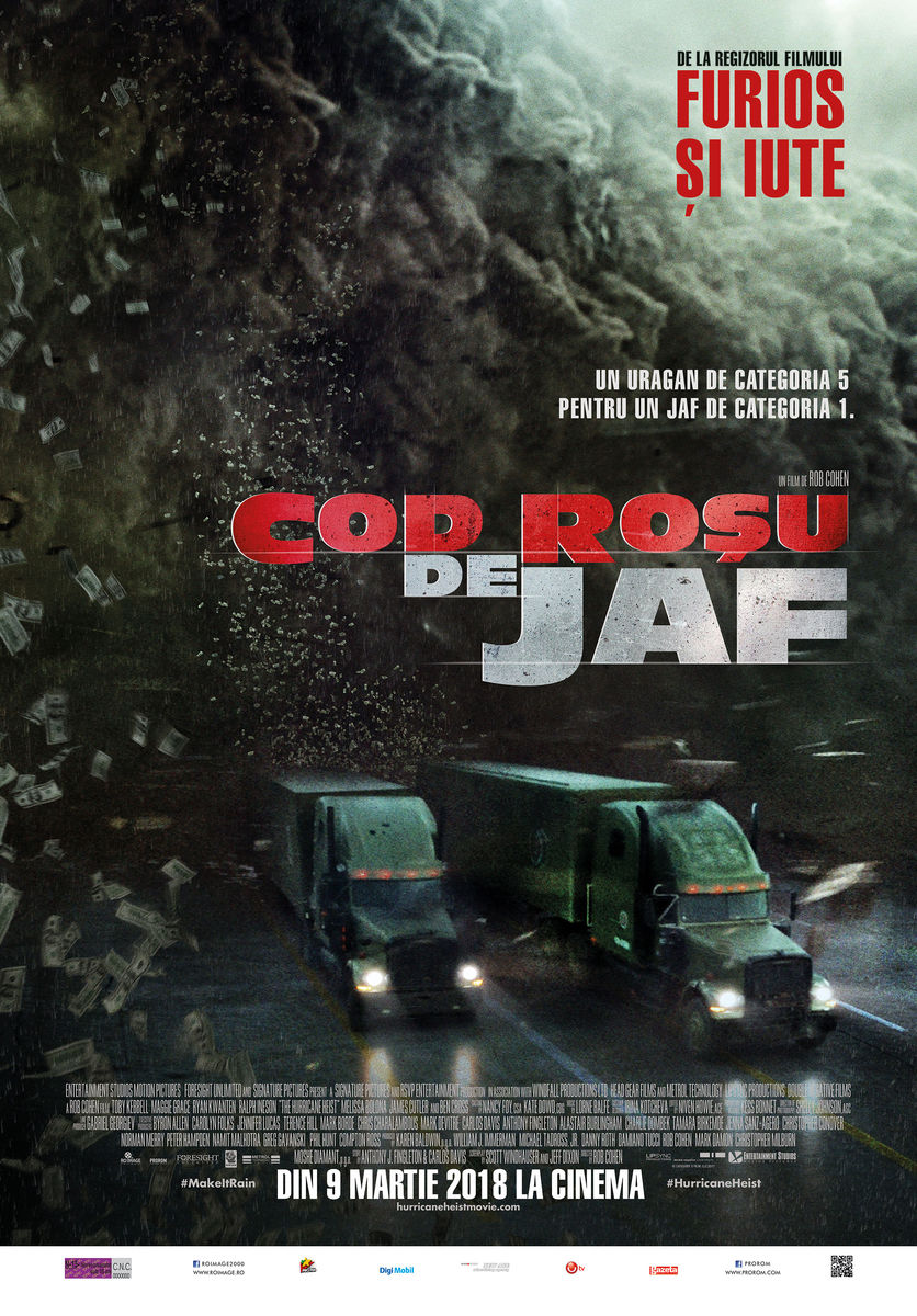 Cod roşu de jaf / The Hurricane Heist (Premieră)