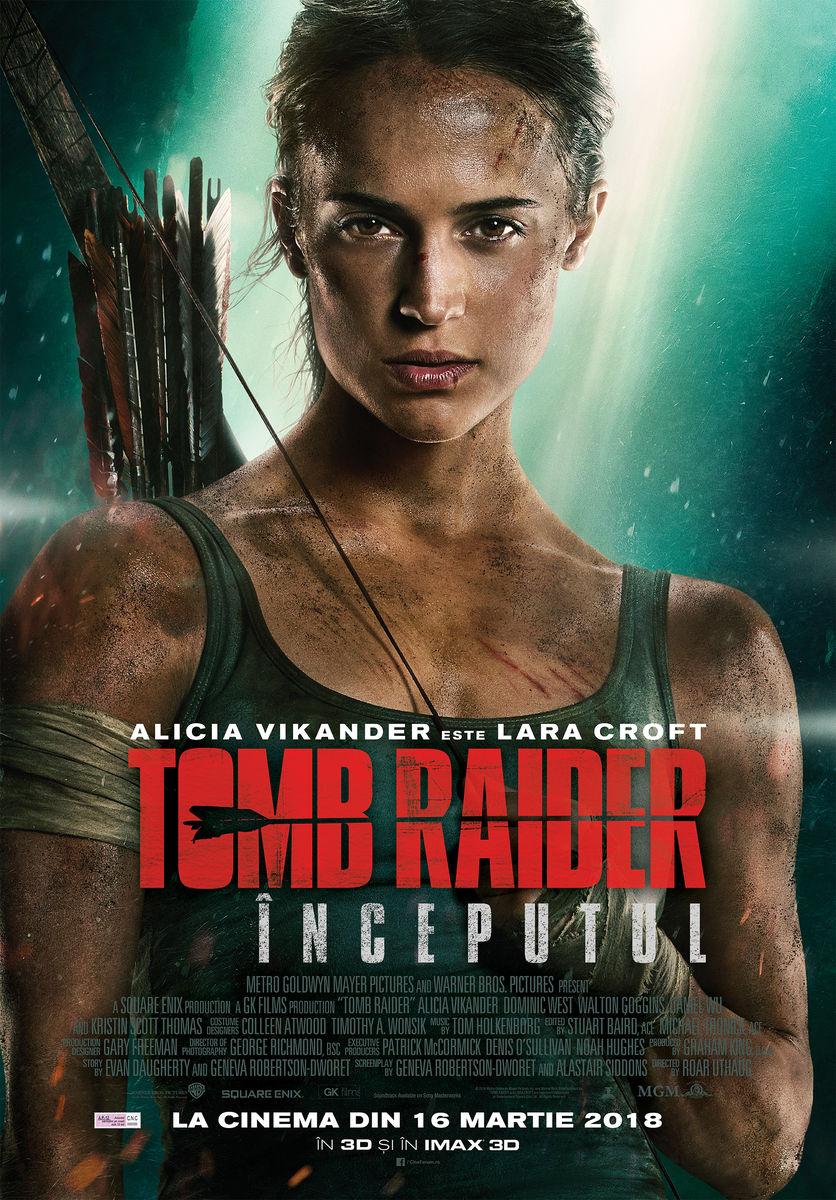 Tomb Raider: Ȋnceputul – 3D / Tomb Raider (Premieră)