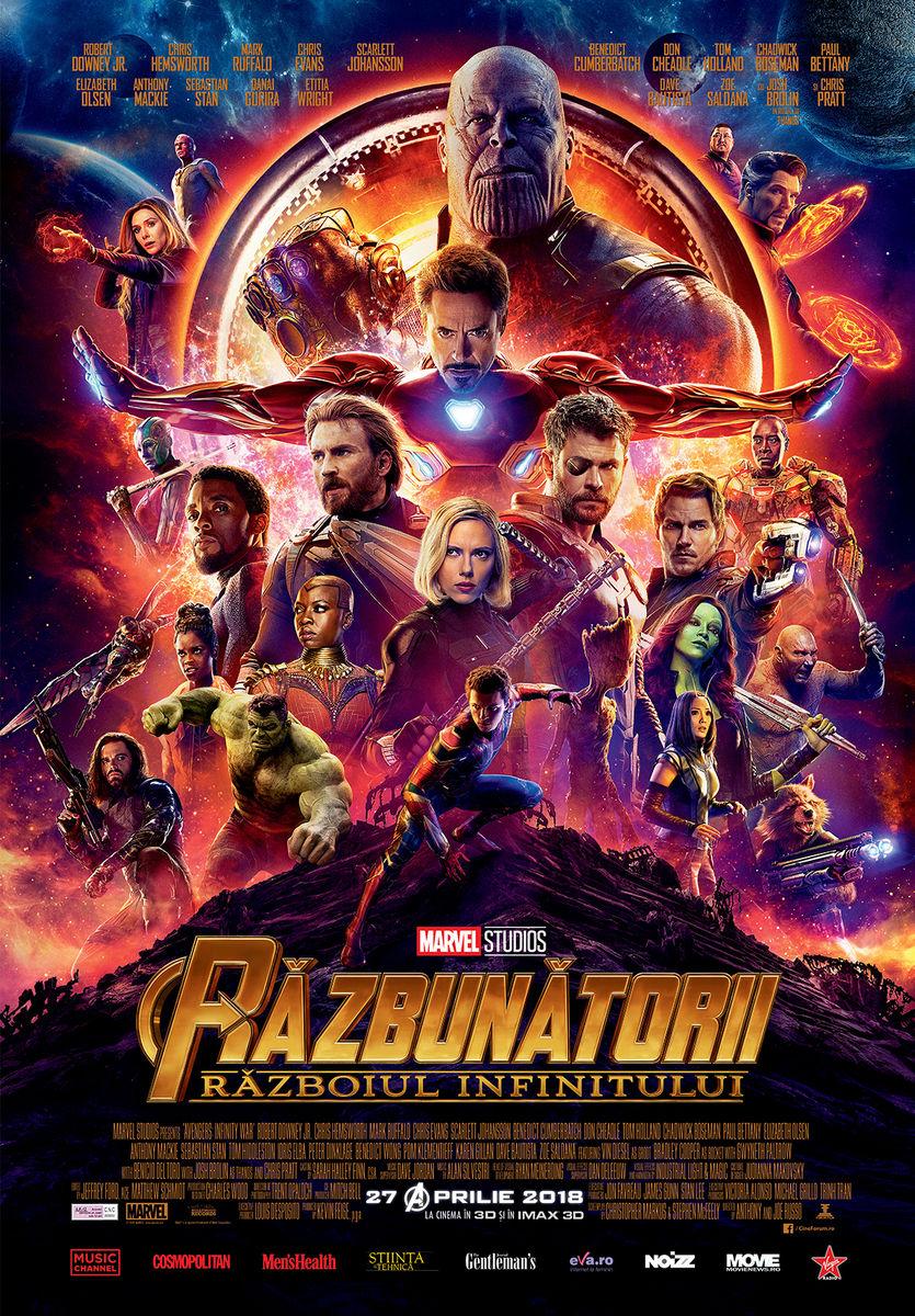 Răzbunătorii: Războiul Infinitului – 3D / Avengers: Infinity War – 3D (Avanpremieră)