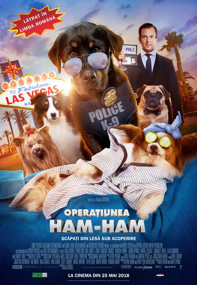 Operaţiunea Ham-Ham – 2D Dublat / Show Dogs (Avanpremieră)