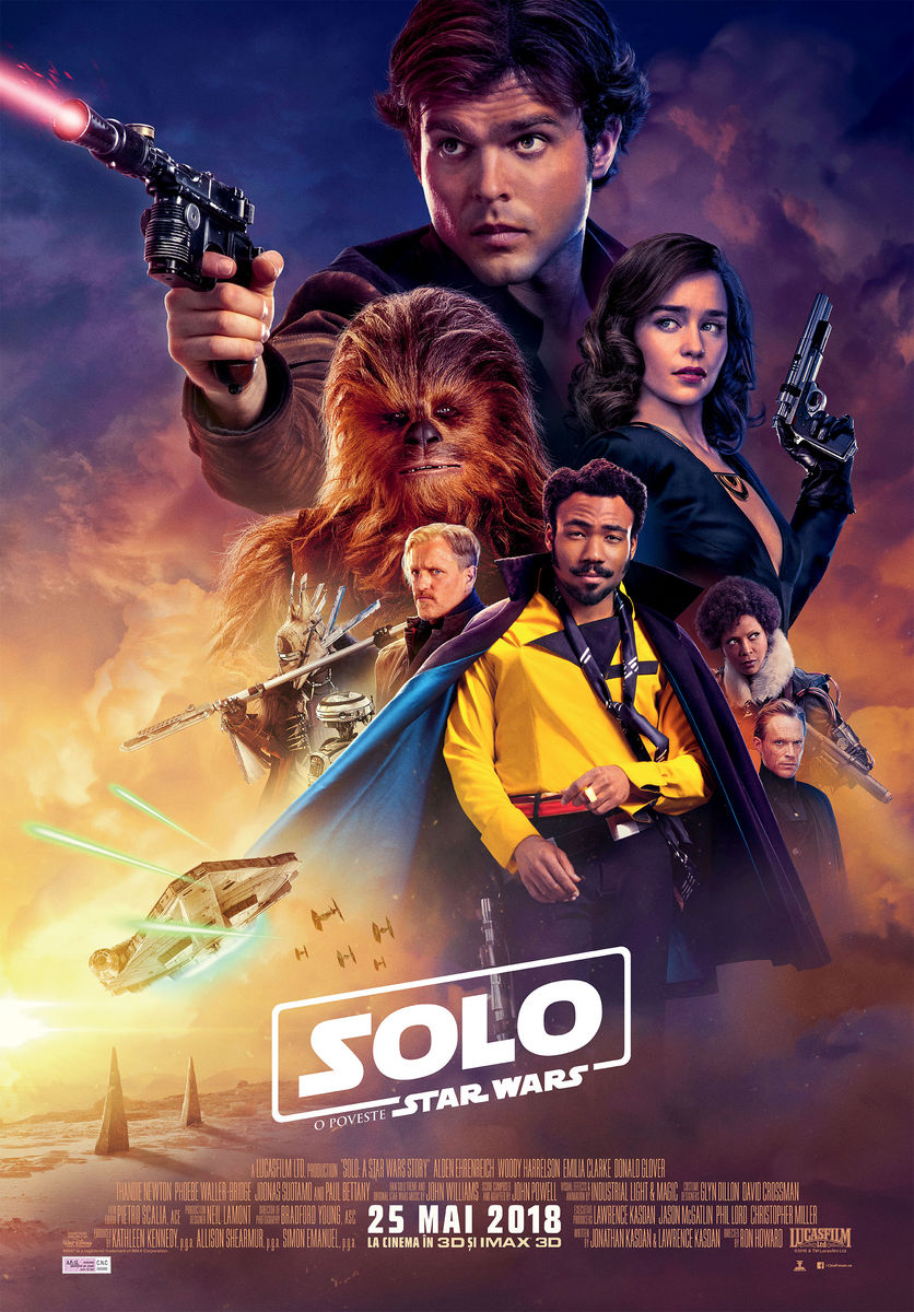 Solo: O poveste Star Wars – 3D Subtitrat / SOLO: A Star Wars Story (Premieră)