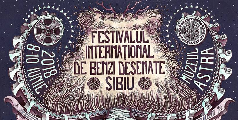 Festival International de Benzi desenate de la Sibiu 2018