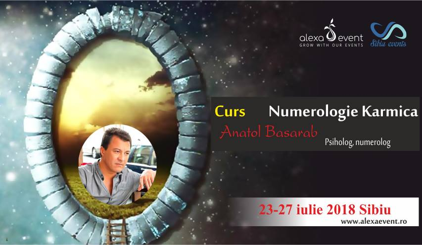 Curs Sibiu Numerologie Karmica cu Anatol Basarab