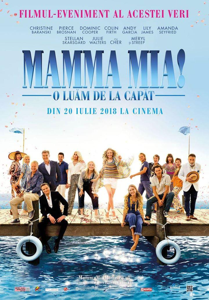 Mamma Mia! Here We Go Again  (Mamma Mia! O luăm de la capăt) -  2D