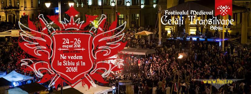 "Festivalul Medieval ""Cetati Transilvane"" Sibiu 2018"