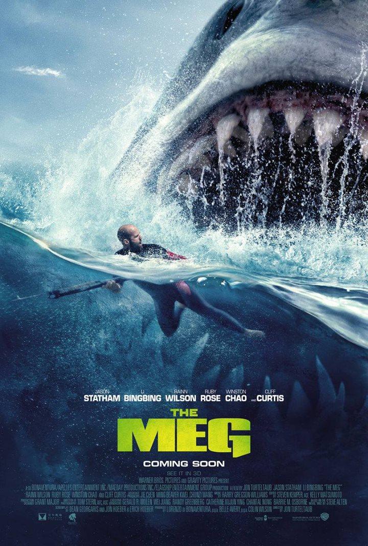 The Meg (Confruntare în adâncuri) 3D