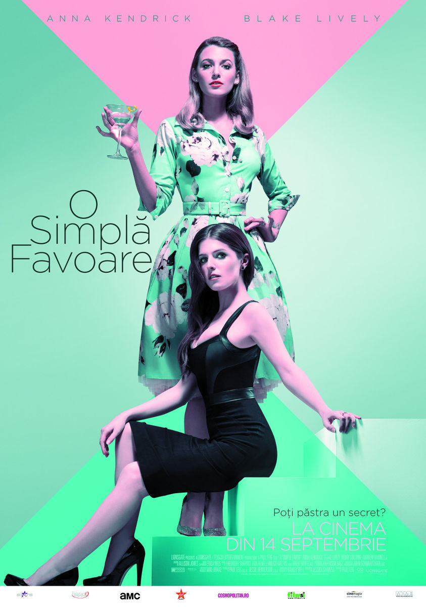 O simplă favoare / A Simple Favor (premieră)