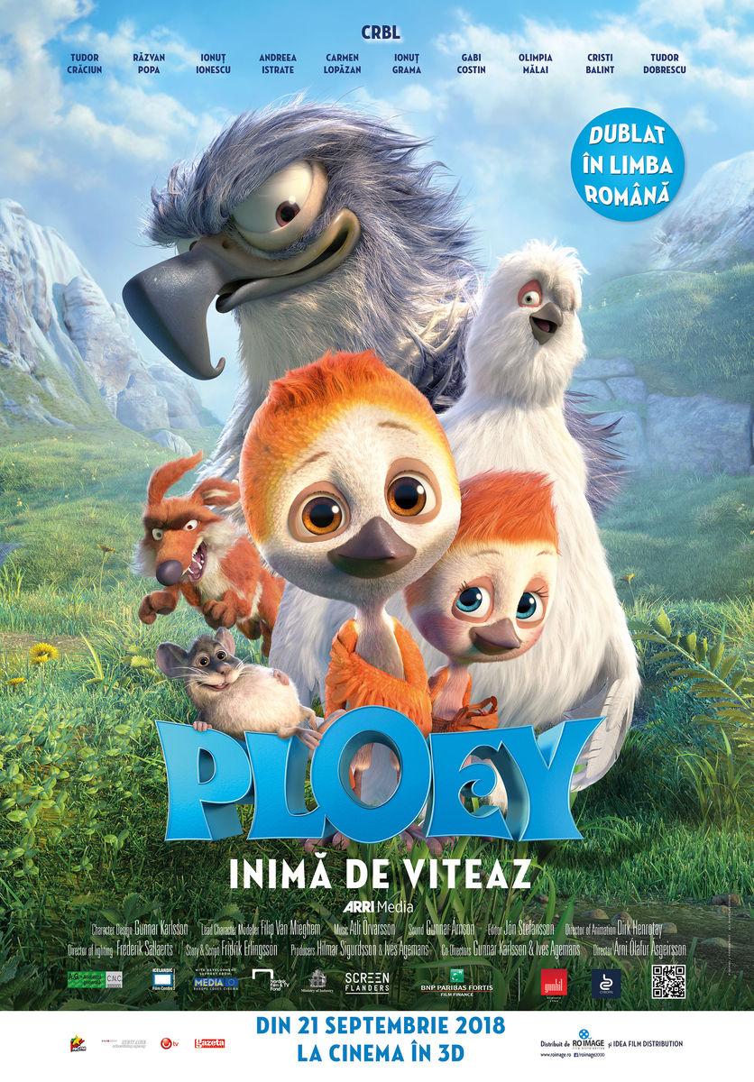 Ploey: Inimă de viteaz – 3D Dublat / Ploey
