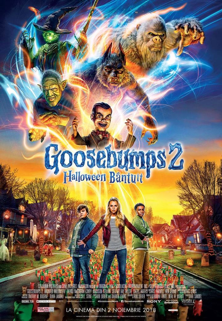 Goosebumps 2    (Goosebumps 2: Halloween bântuit) - 3D