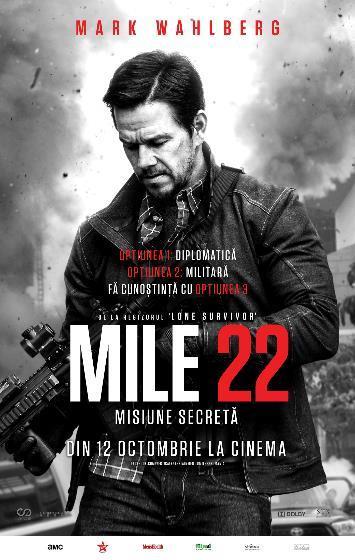 Mile 22 (Mile 22: Misiune secretă) - 2D- PREMIERĂ