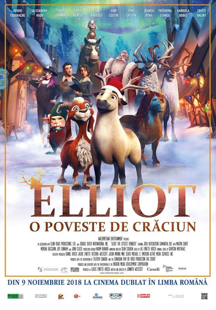 Elliot the Littlest Reindeer (Elliot: O poveste de Crăciun) - 2D Dublat RO