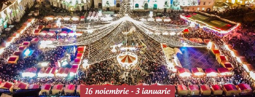 Târgul de Crăciun din Sibiu 2018