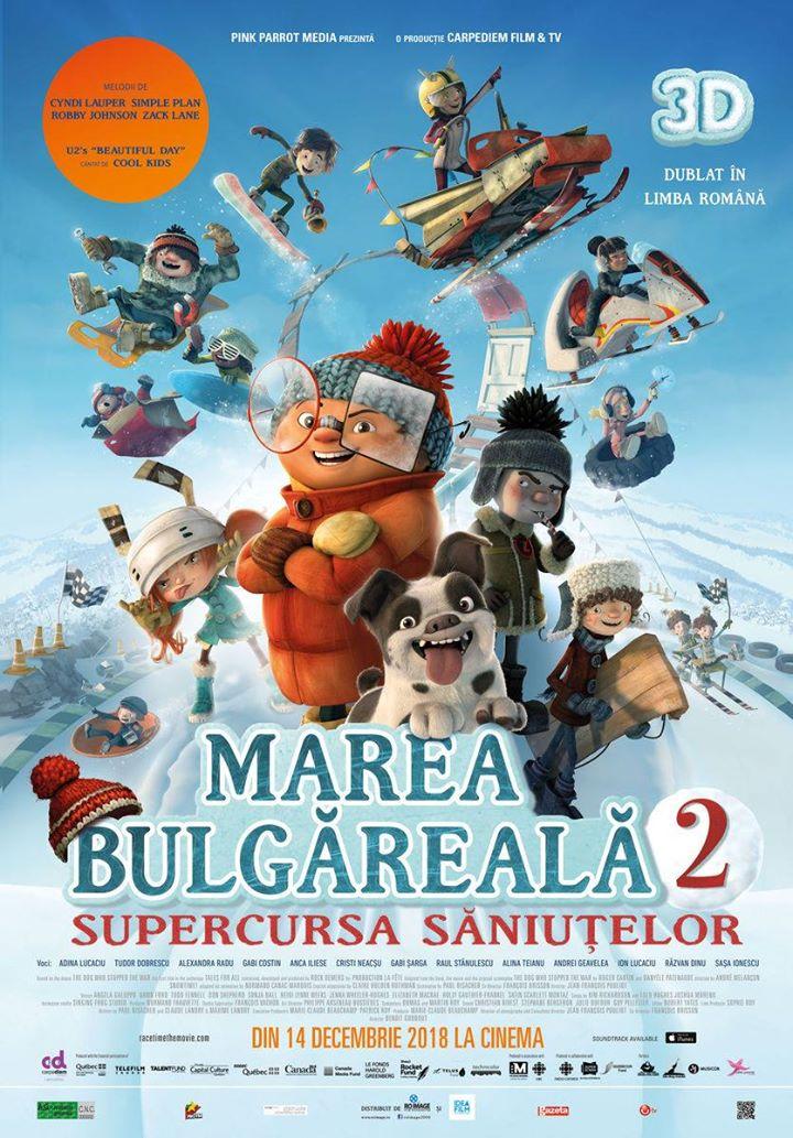 Racetime (Marea bulgăreală 2 – Supercursa săniuțelor) - 3D Dublat RO