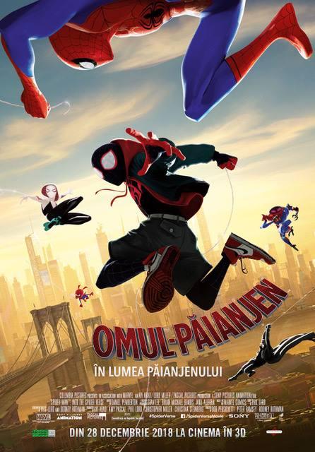 Spider-Man: Into the Spider-Verse (Omul-Păianjen: În lumea păianjenului) - 3D Dublat RO